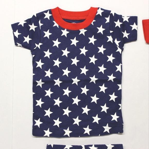 "Independent/"" Stars /& Stripes 4 Piece Pajama Set Carter/'s Baby Boy/'s /""Mr"